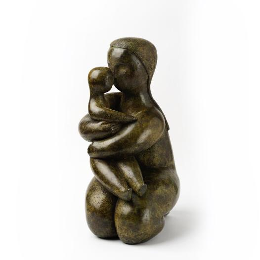 In My Arms bronze sculpture