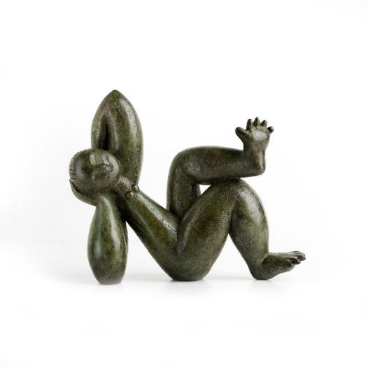 Spread Toes bronze sculpture
